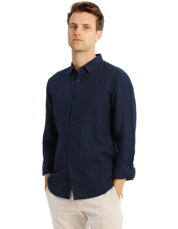 Bondi Linen Ls Relaxed Shirt image 3