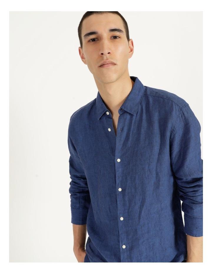 Bondi Linen Long Sleeve Relaxed Shirt image 4