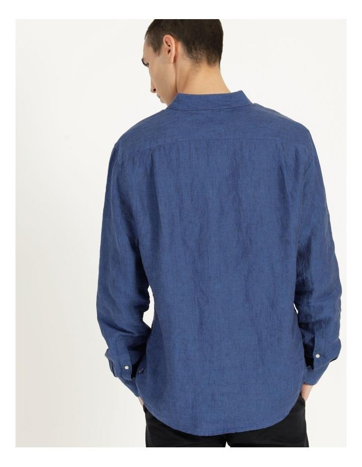 Bondi Linen Long Sleeve Relaxed Shirt image 5