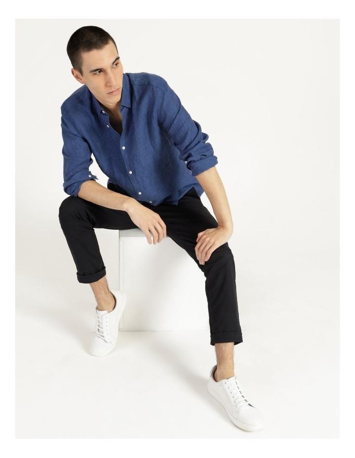 Bondi Linen Long Sleeve Relaxed Shirt image 6