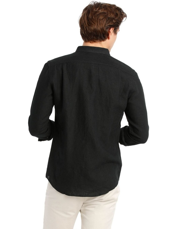 Bondi Linen Long Sleeve Relaxed Shirt image 3