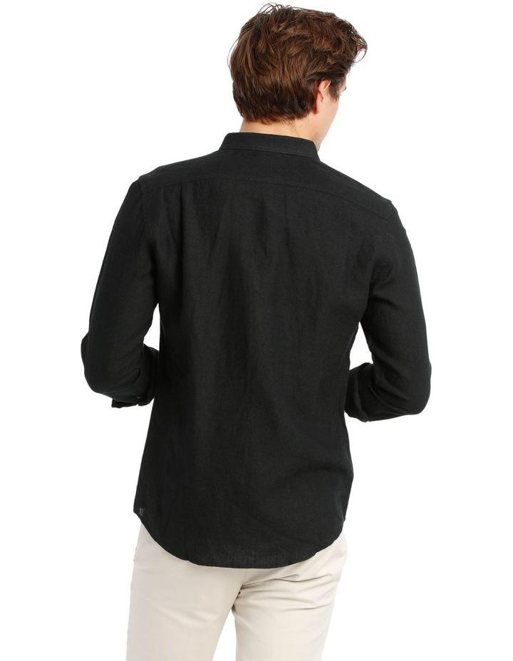 Bondi Linen Long Sleeve Relaxed Shirt image 3
