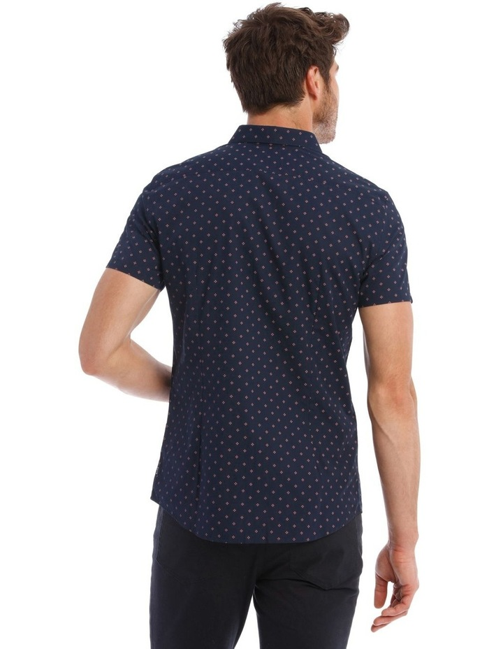 Mark Micro Print SS Slim Shirt image 3
