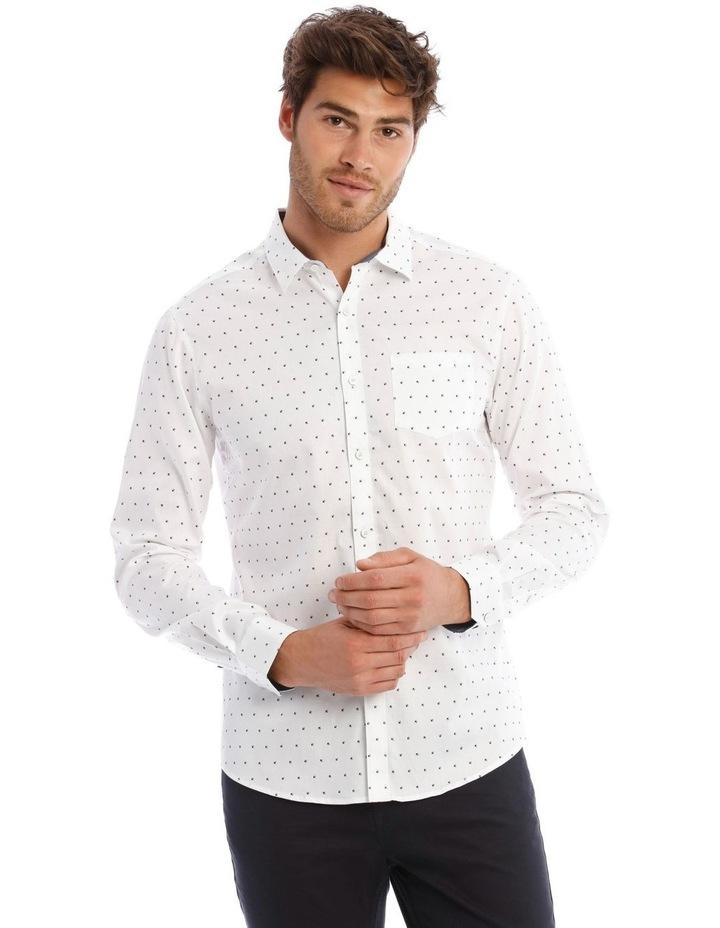 Vapor Microprint Long Sleeve Shirt