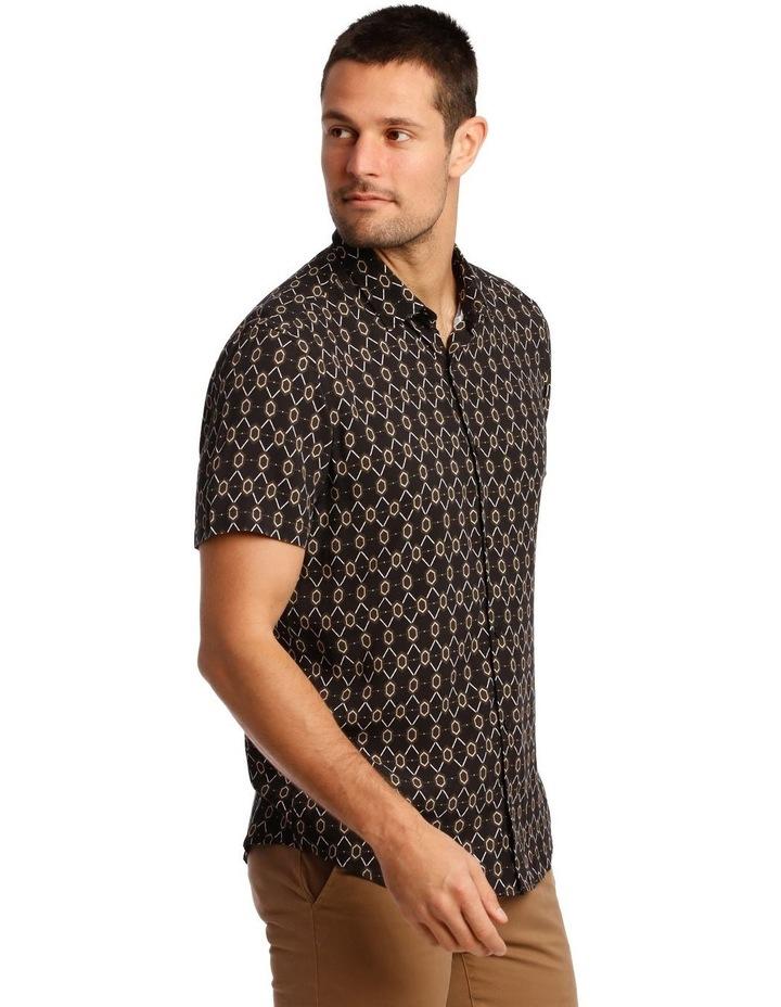 Klimt Print Rayon Short Sleeve Shirt image 2