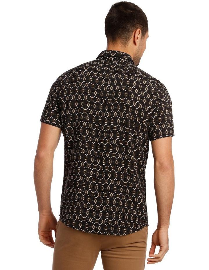 Klimt Print Rayon Short Sleeve Shirt image 3
