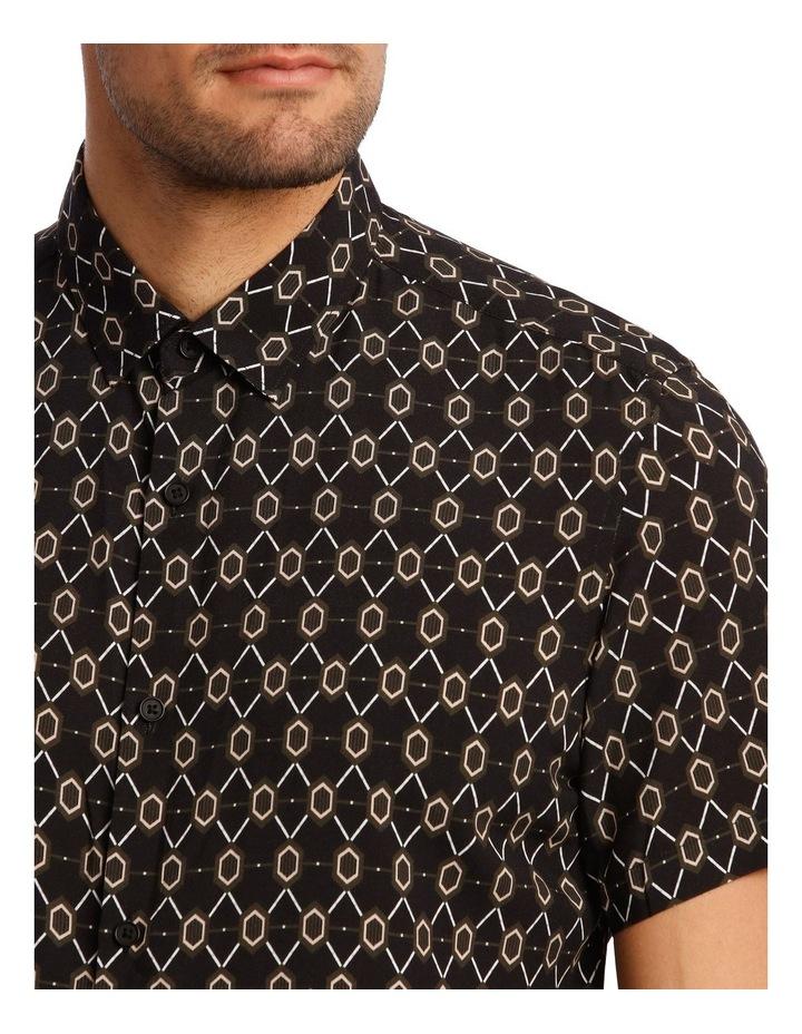 Klimt Print Rayon Short Sleeve Shirt image 4