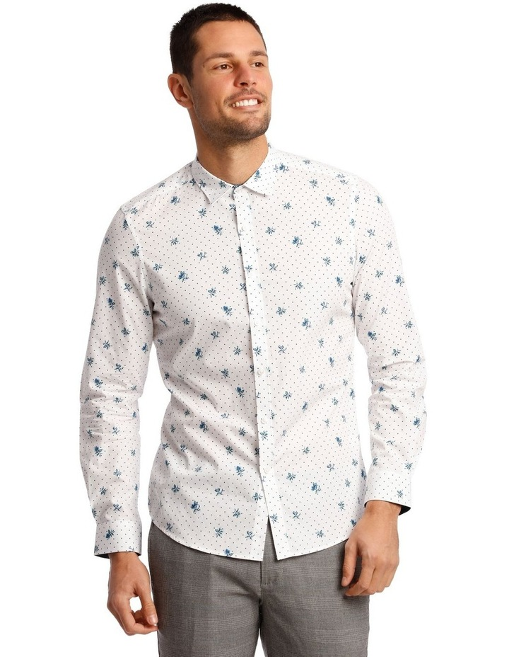 Current Printed Long Sleeve Shirt image 1