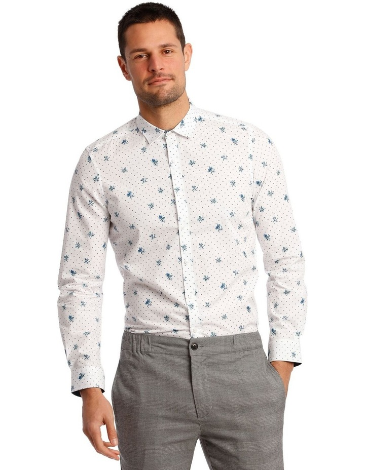 Current Printed Long Sleeve Shirt image 3