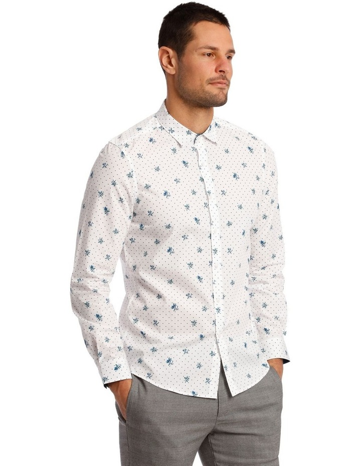 Current Printed Long Sleeve Shirt image 4
