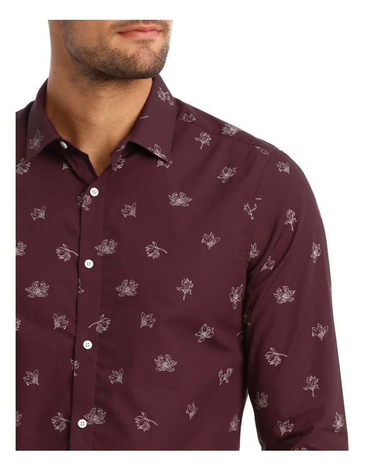 Feder Microprint Long-Sleeve Shirt image 2