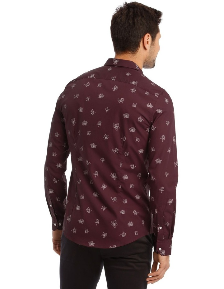 Feder Microprint Long-Sleeve Shirt image 4