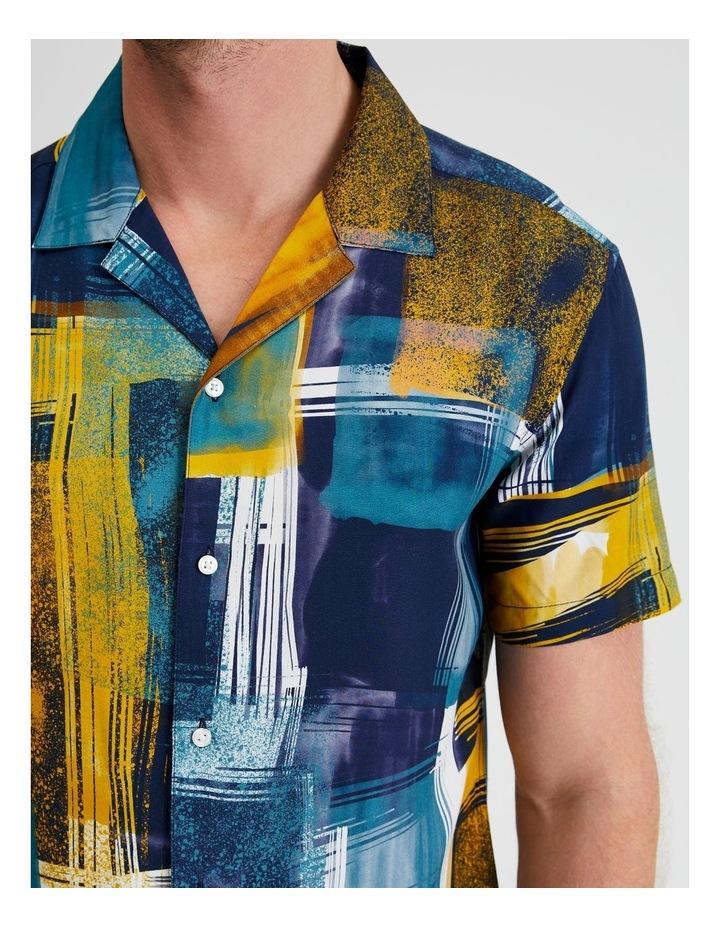 Harajuku Print Short Sleeve Shirt image 5