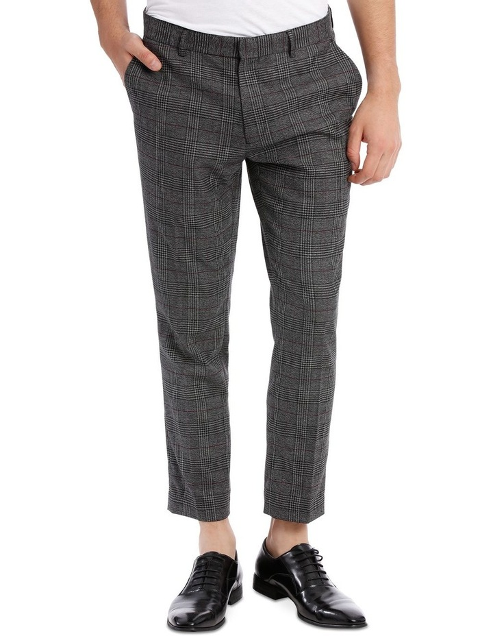 FULHAM CHECK CROPPED TROUSER image 1