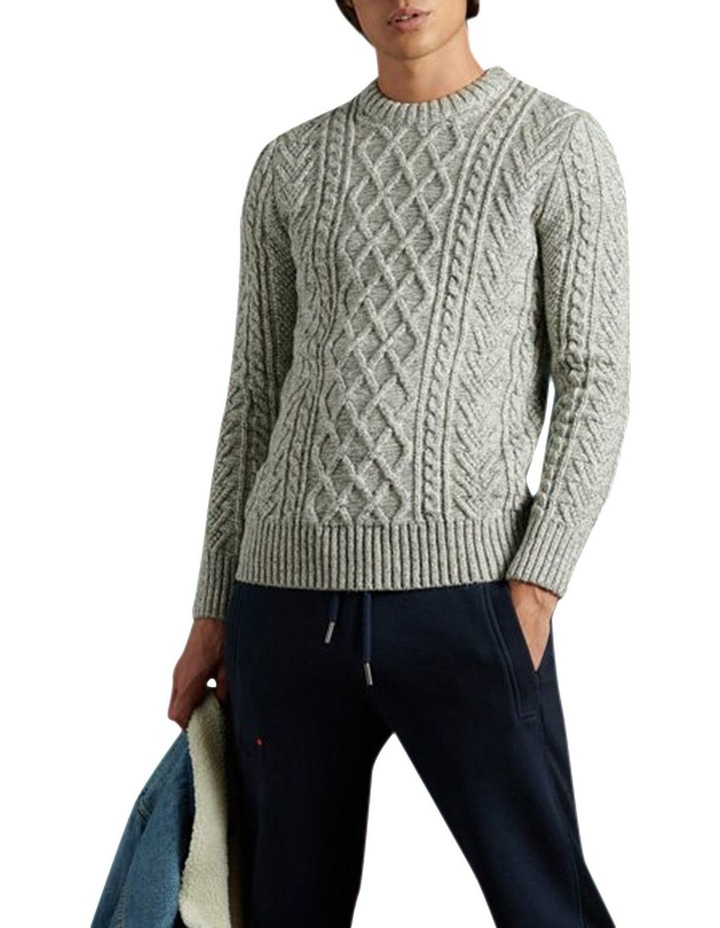 Jacob Cable Crew Knit image 3