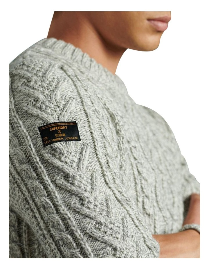 Jacob Cable Crew Knit image 4