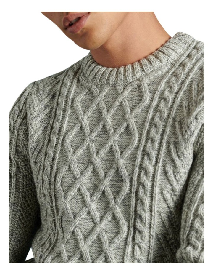 Jacob Cable Crew Knit image 5