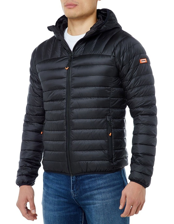 CORE DOWN HOODED JACKET image 2