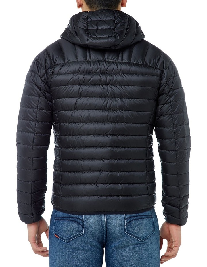 CORE DOWN HOODED JACKET image 3