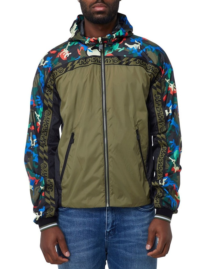 Hawk Colourblock Cagoule image 1