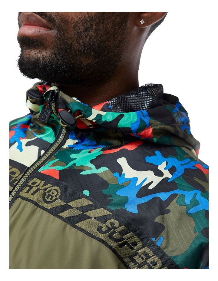 Hawk Colourblock Cagoule image 2
