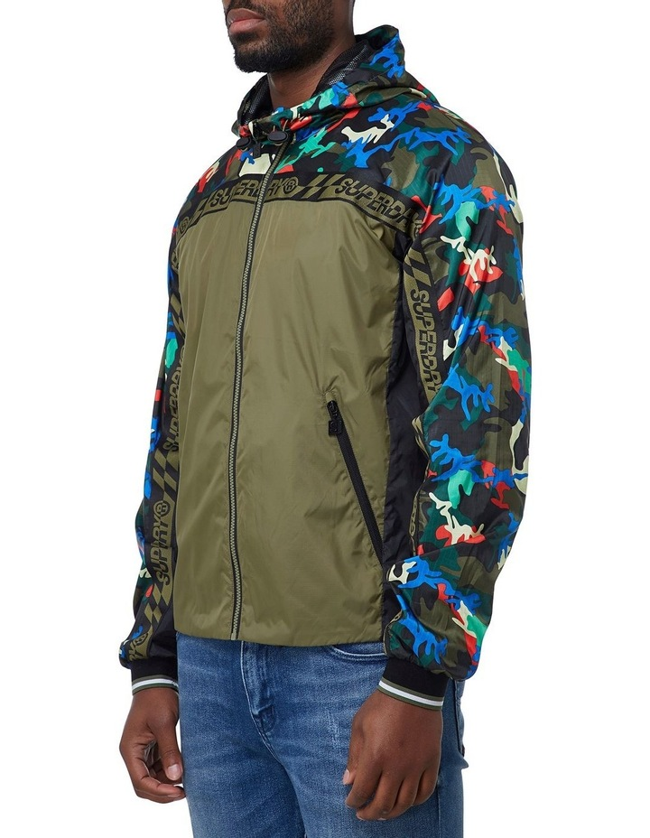 Hawk Colourblock Cagoule image 3