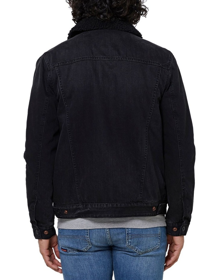 Hacienda Sherpa Denim Jacket image 4