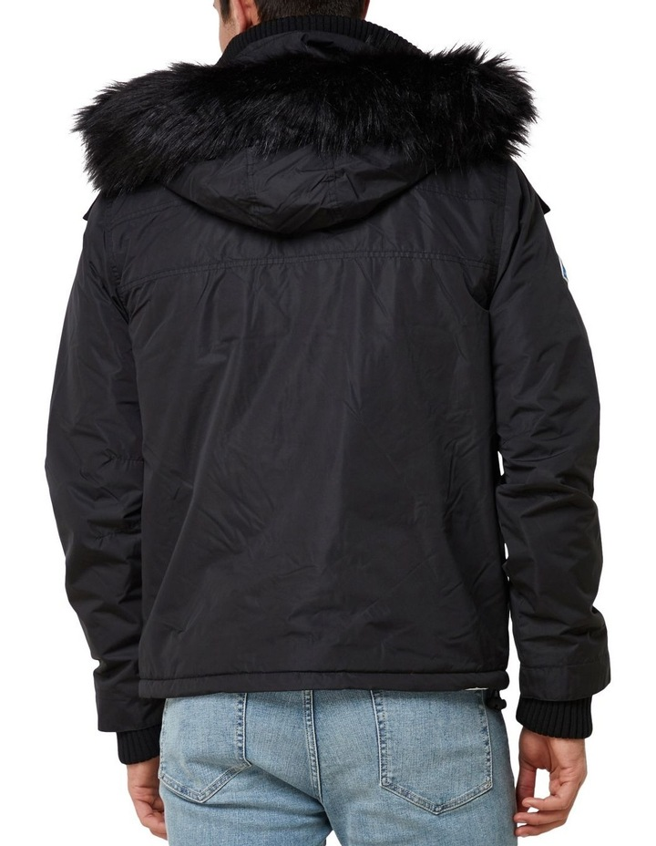 Microfibre Fur Hooded Attacker image 3