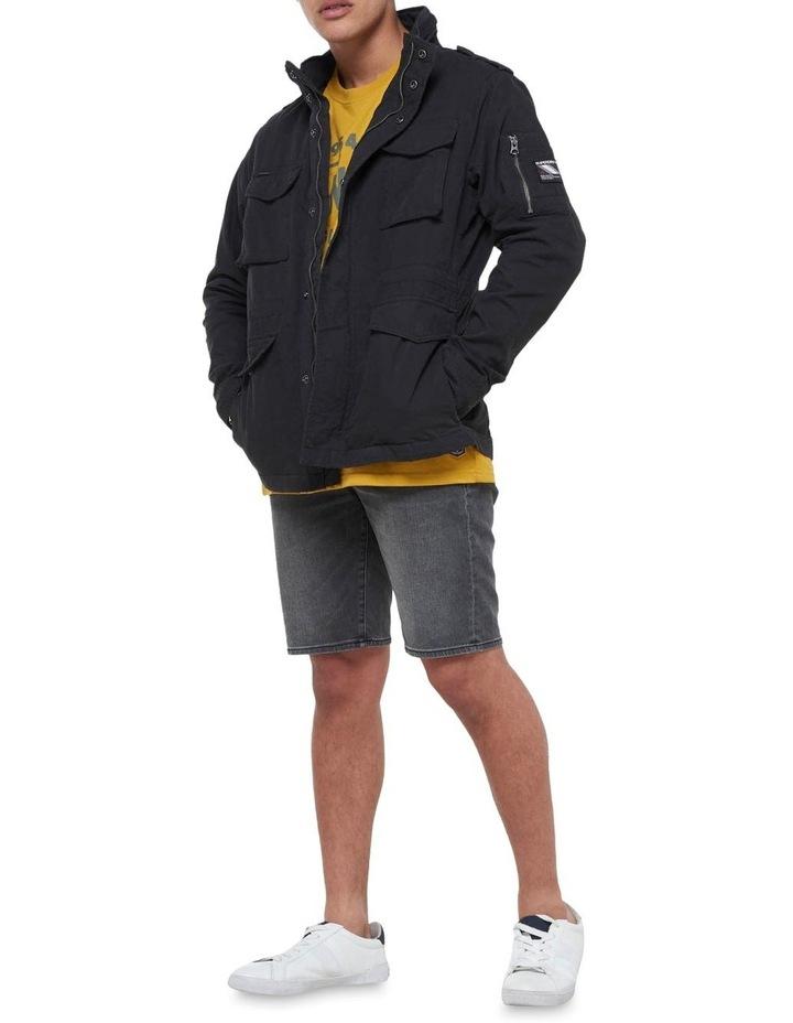 Classic Recruit Jacket Washed Black image 1