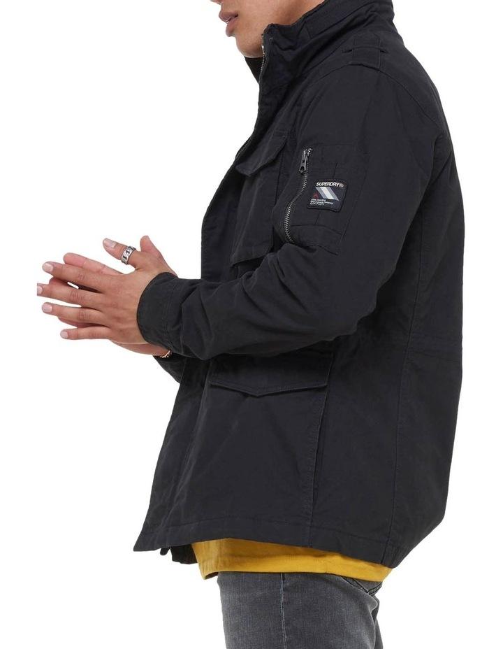 Classic Recruit Jacket Washed Black image 3
