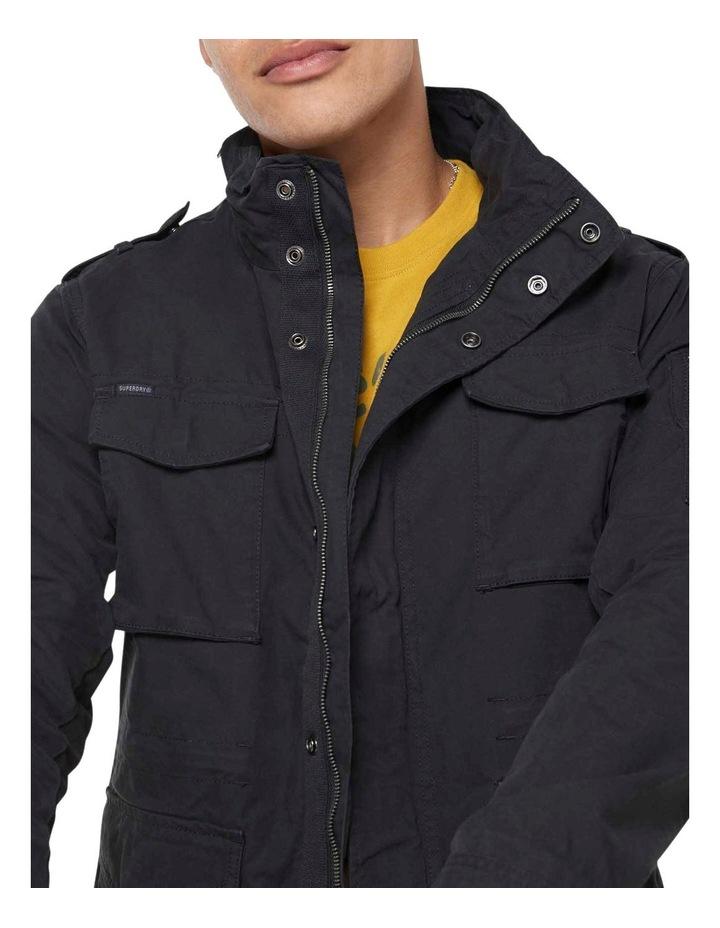 Classic Recruit Jacket Washed Black image 4