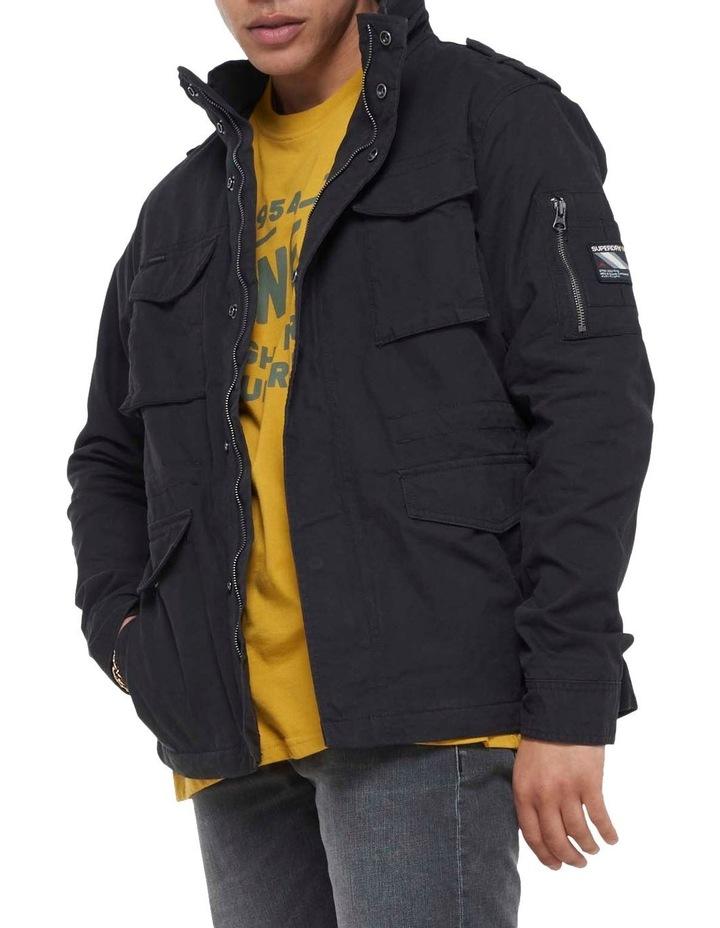 Classic Recruit Jacket Washed Black image 5