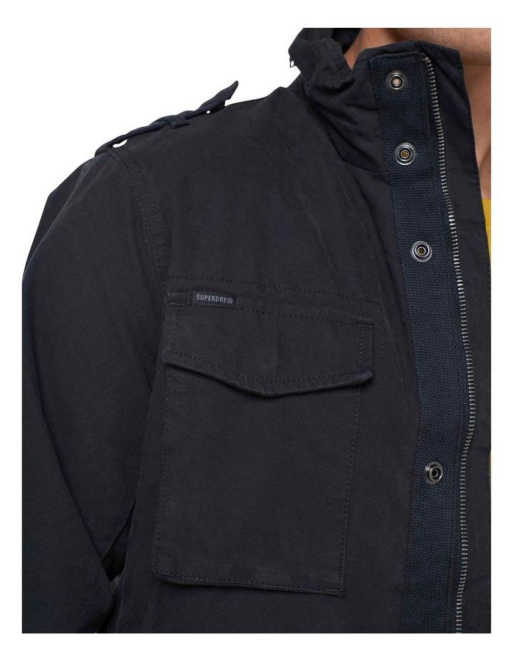 Classic Recruit Jacket Washed Black image 6