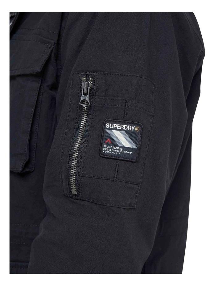 Classic Recruit Jacket Washed Black image 7