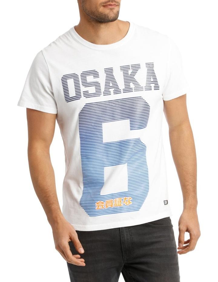 Osaka Line Fade Tee image 1