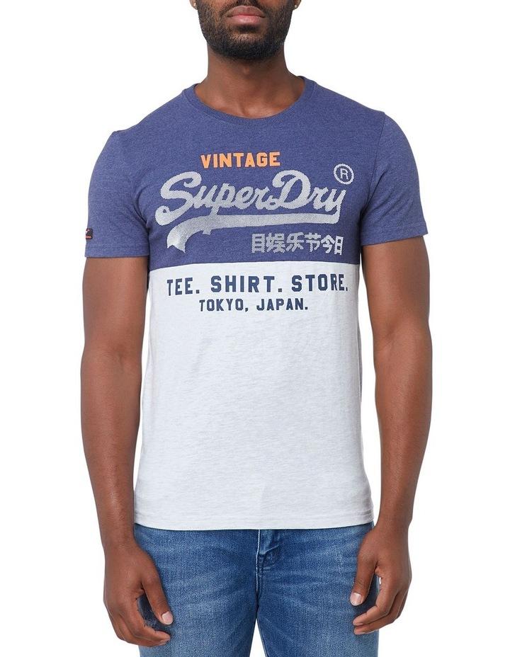 Shirt Shop Tri Panel Tee image 1