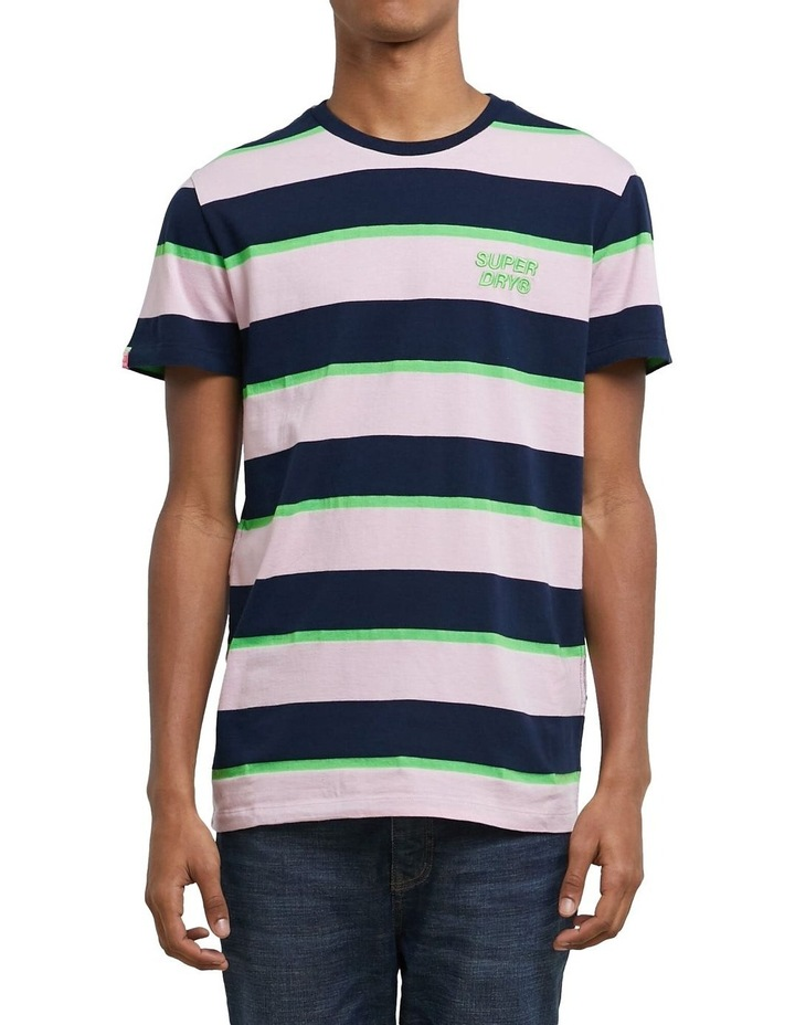 Stacked Skate Lux Stripe Tee image 1
