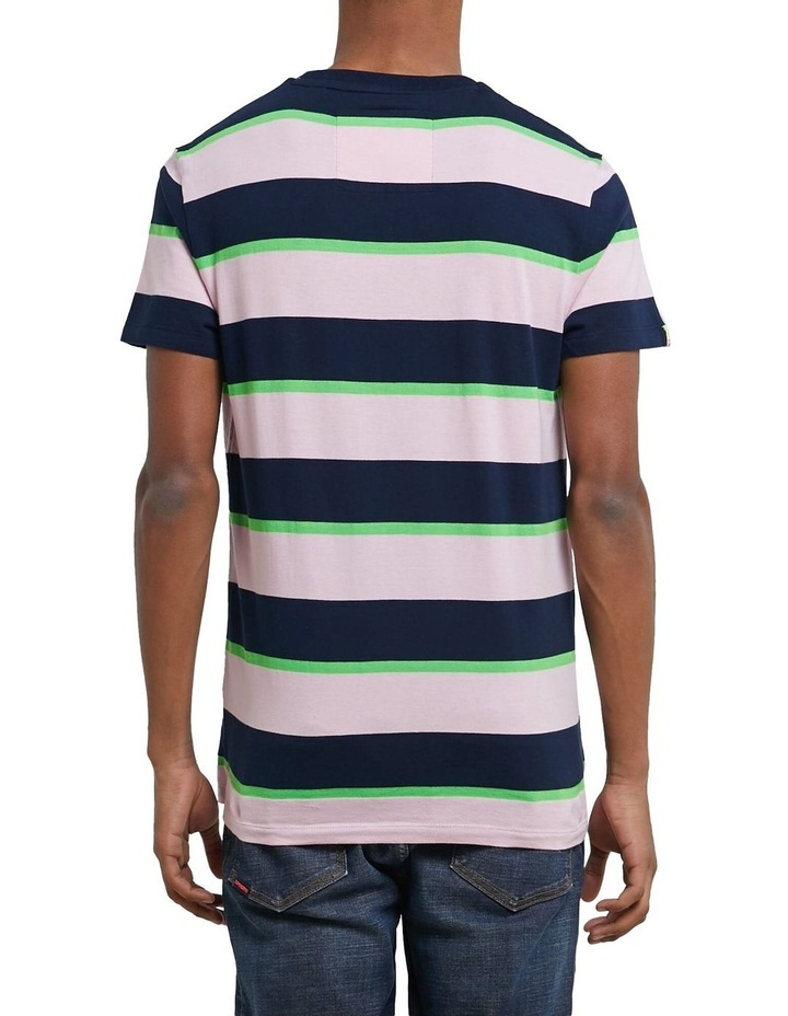 Stacked Skate Lux Stripe Tee image 2