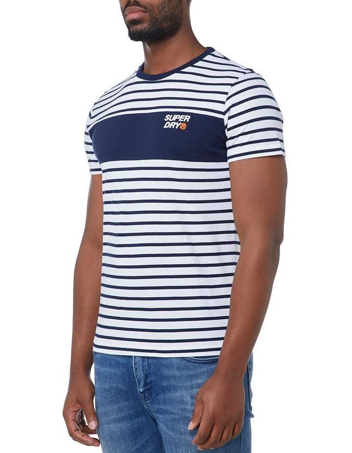 Stacked Chestband Stripe Tee image 2