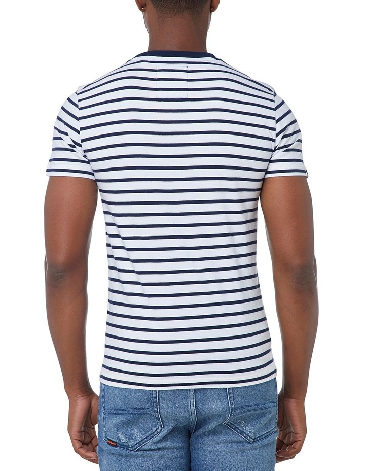Stacked Chestband Stripe Tee image 3