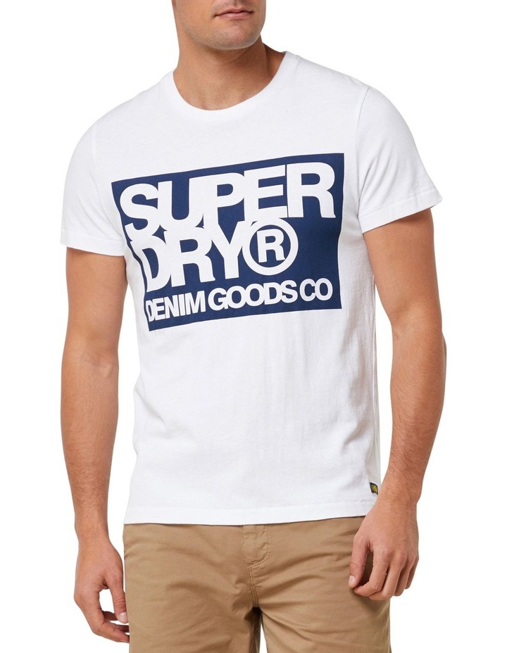 Denim Goods Co Print Tee image 1