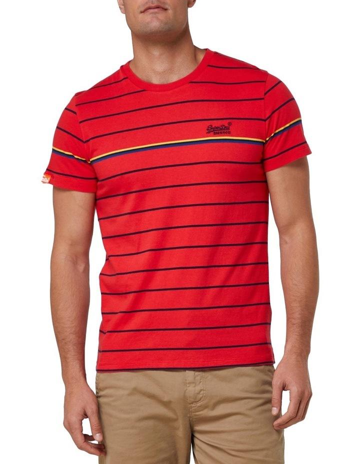 Orange Label Bretton Stripe Tee image 1