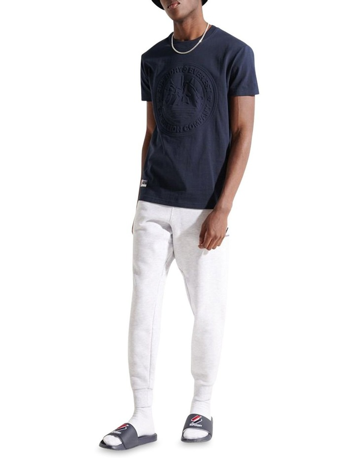 Expedition Emboss Tee Navy image 3