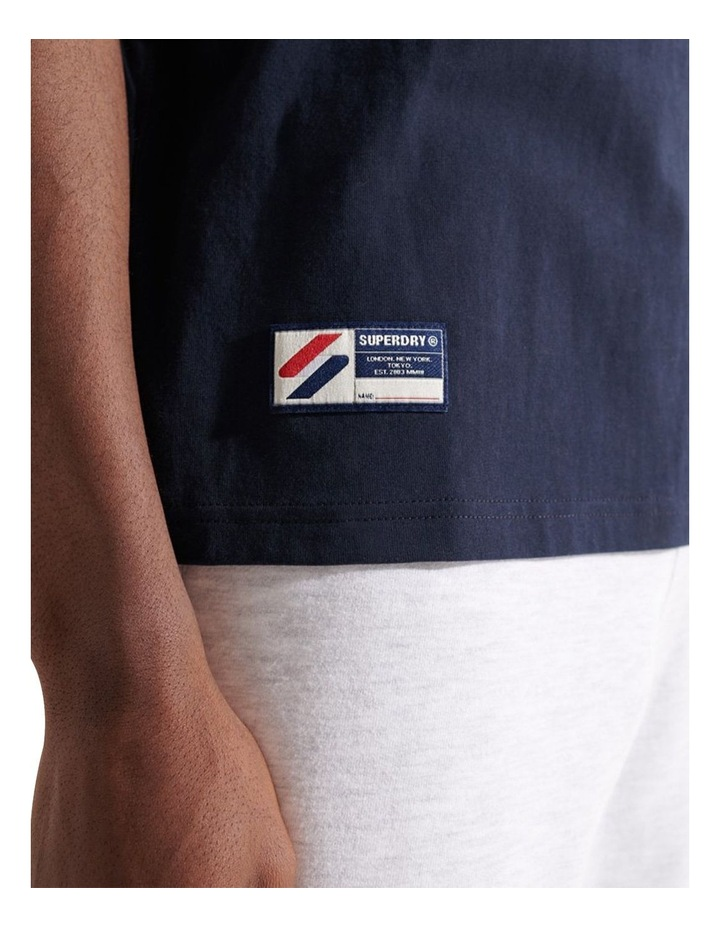 Expedition Emboss Tee Navy image 5