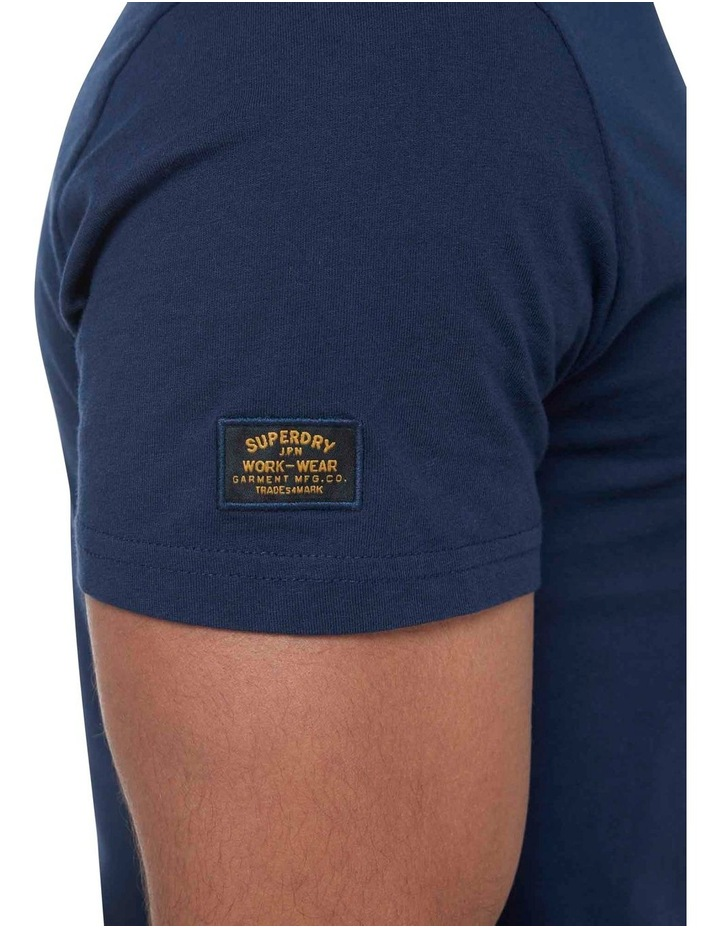 Short Sleeve Workwear Graphic Tee image 6