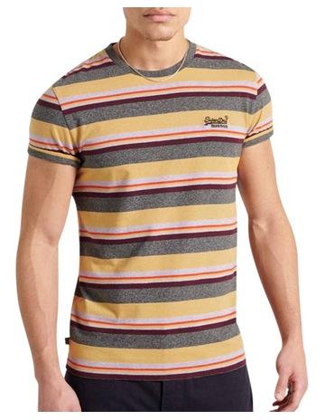 Ochre Marle Stripe colour
