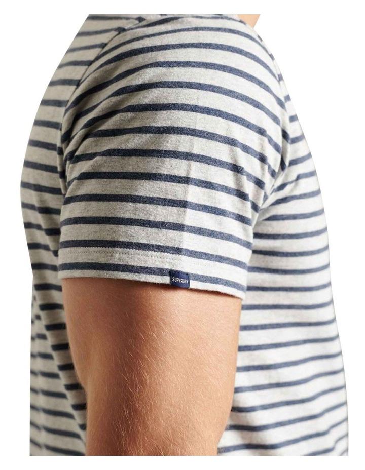 Orange Label Stripe Tee image 4