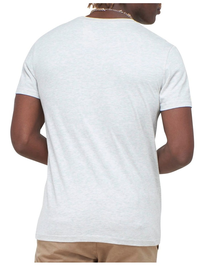 Core Logo Workwear Tee White image 4