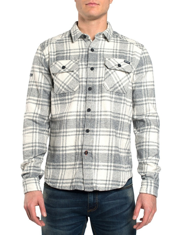 Milled Flannel Long Sleeve Shirt image 1