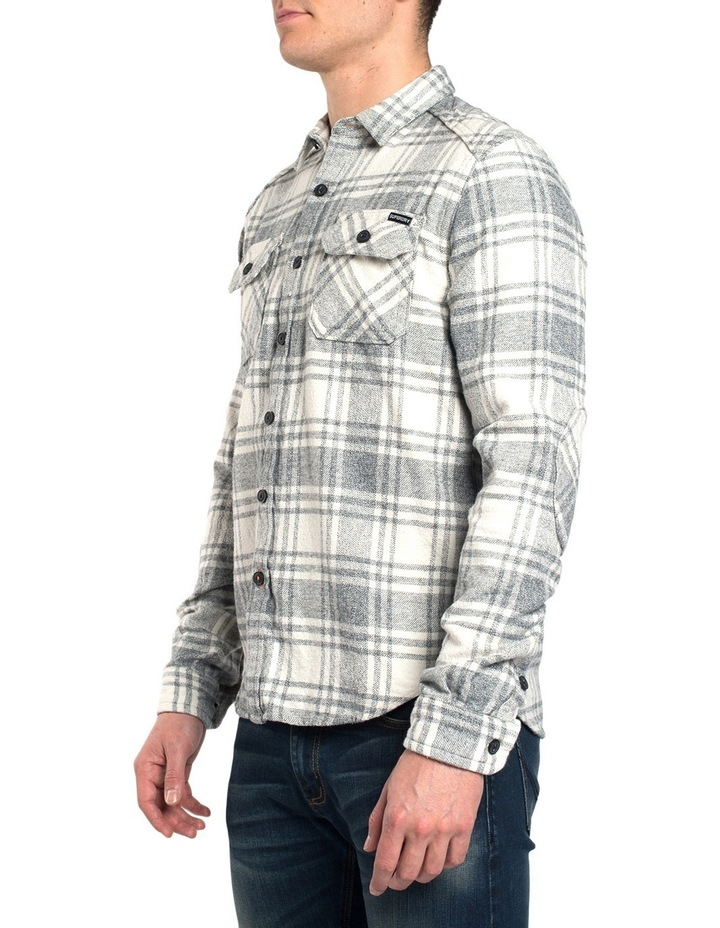 Milled Flannel Long Sleeve Shirt image 2